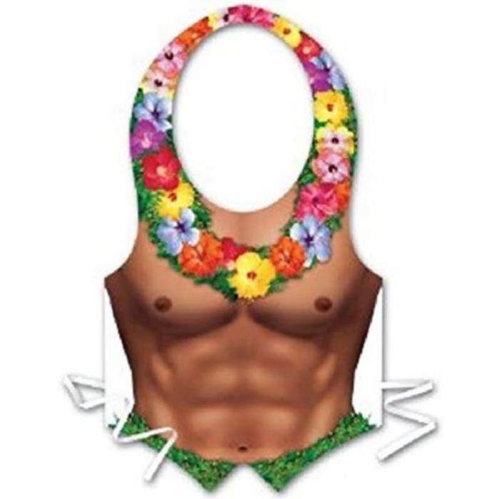 Tablier buste homme plastique Hawai Achat / Vente accessoire