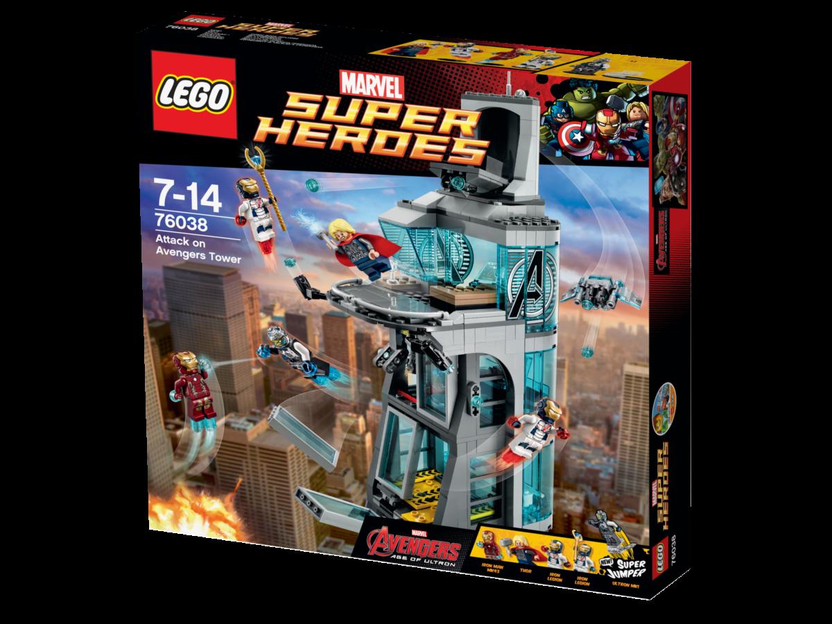 LEGO® Super Heroes 76038 Attaque de la Tour Achat / Vente