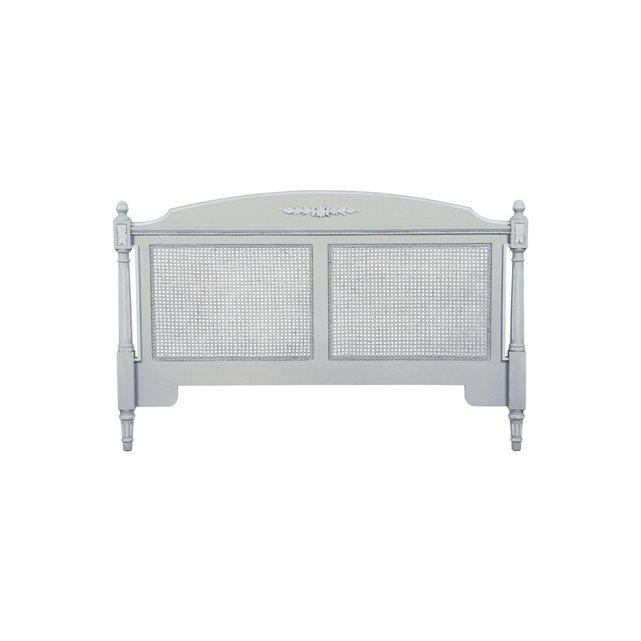 Tête de lit pour literie 140 et 160 cm gris Interior S