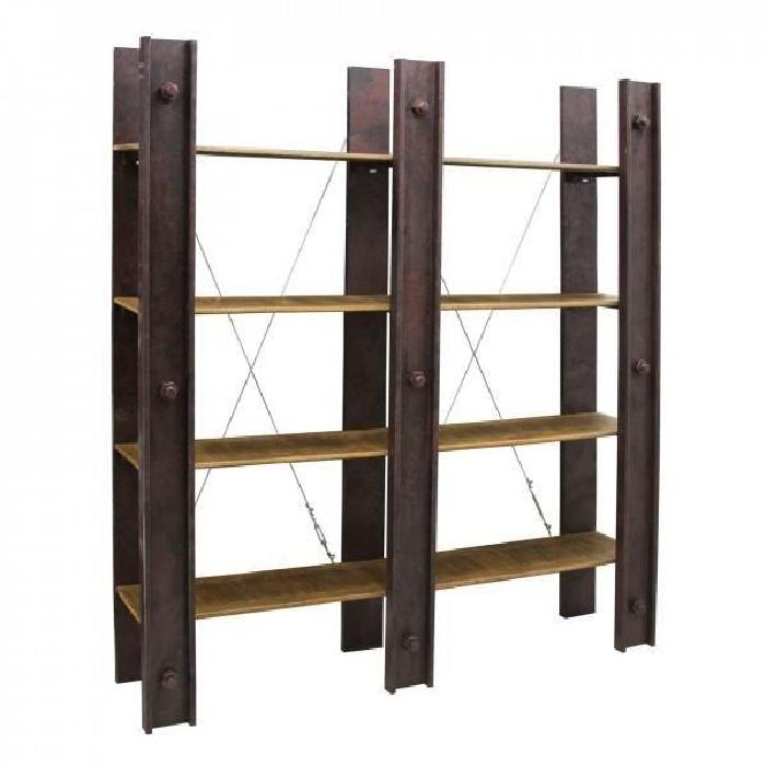 Etagere bibliotheque topiwall for Achat meuble industriel