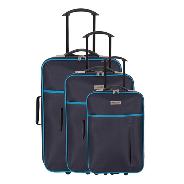 TRAVEL ONE Travel One Set de 3 Valises souples MOUTH Taille S+M