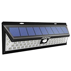 54 LED] Mpow Lampe solaire extérieure étanche IP65 1188 lumens