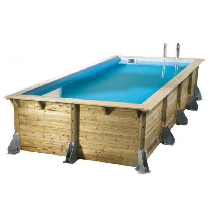 Achat / Vente piscine Piscine bois rectangulaire