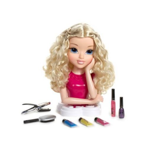 Moxie Girlz Tête à coiffer Magic hair Cheveux blonds 1482
