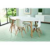 Table salle a manger ovale design - TopiWall