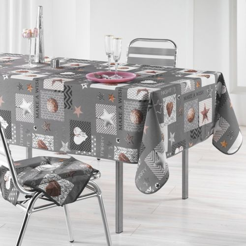 Starly Gris 150 X 240 pas cher Achat / Vente Nappes RueDuCommerce