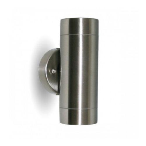 Arum Lighting Applique inox exterieure double faisceau pas cher