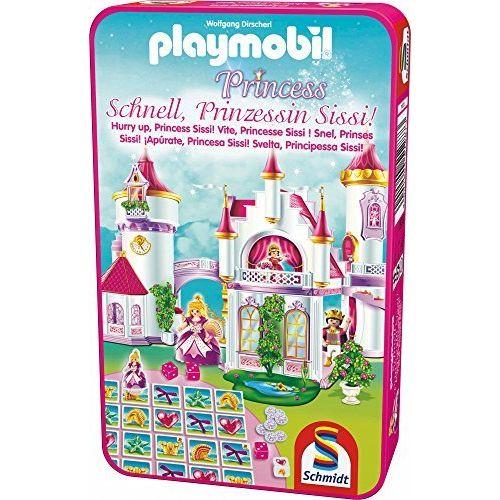 Schmidt Spiele 51287 Jeu De Poche Playmobil, Vite, Princesse