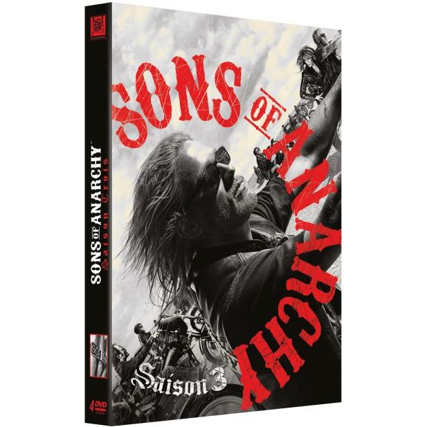 DVD Sons of anarchy saison 3 en dvd série pas cher