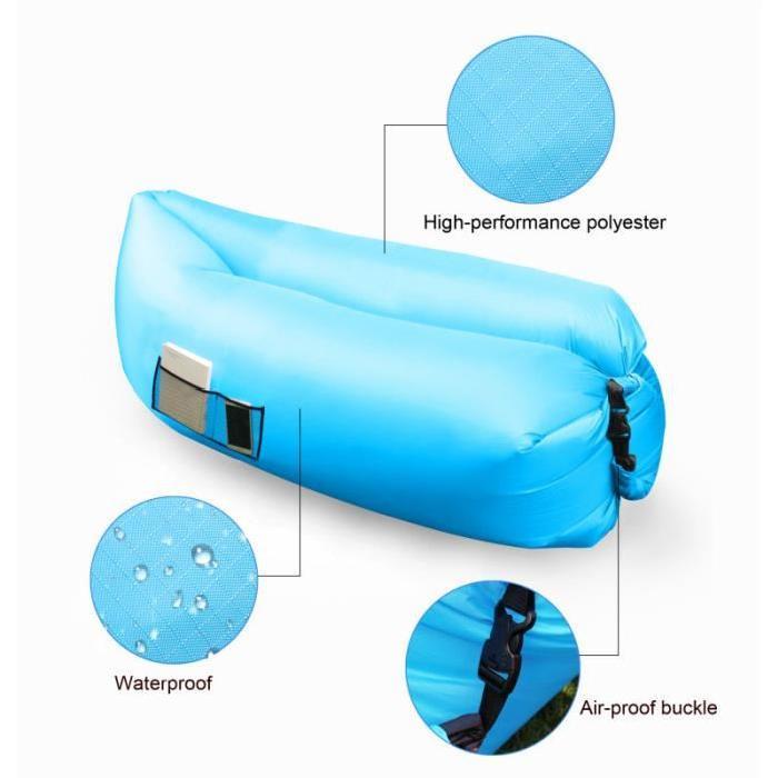 Air Bag gonflable Hamac Chaise Hangout canapé lit Canapé Dormir