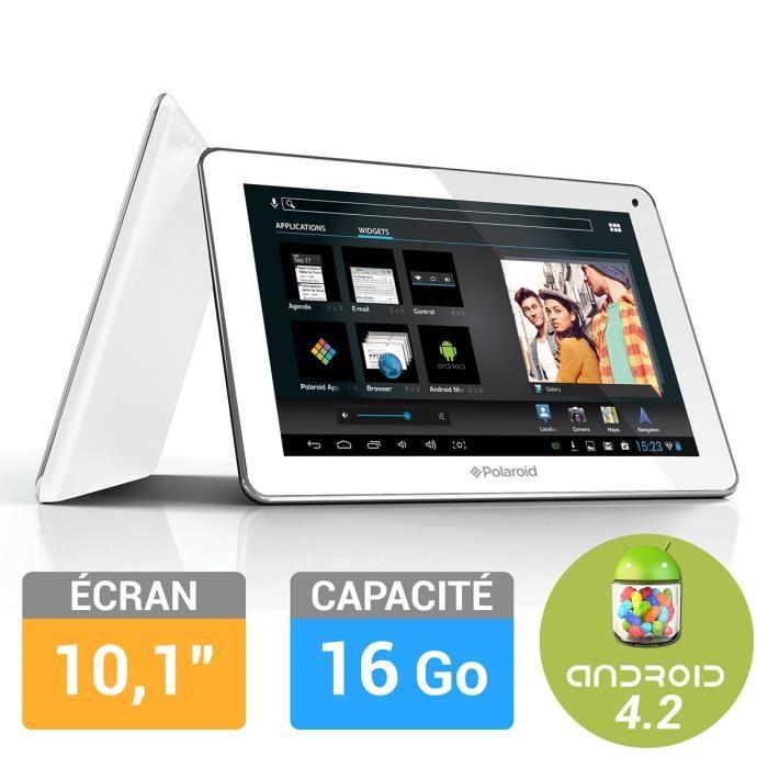 Polaroid Tablette PEARL 10,1″ Achat / Vente tablette tactile
