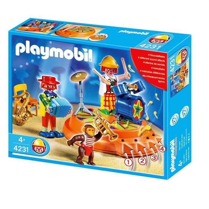 PLAYMOBIL 4231 Orchestre de cirque Achat / Vente univers miniature