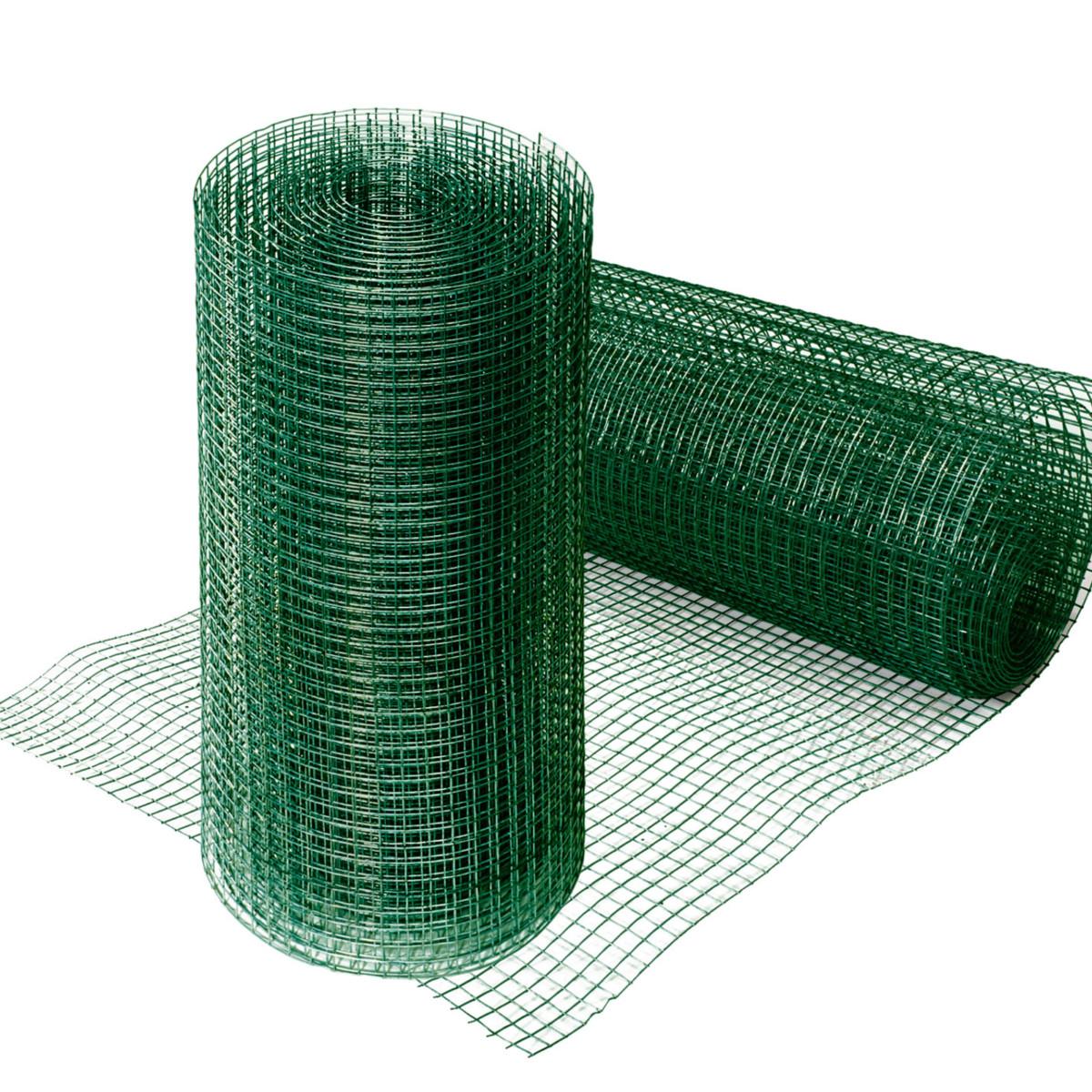 Grillage carré mailles 12,7mm, 4 tailles, clôture volière plastique