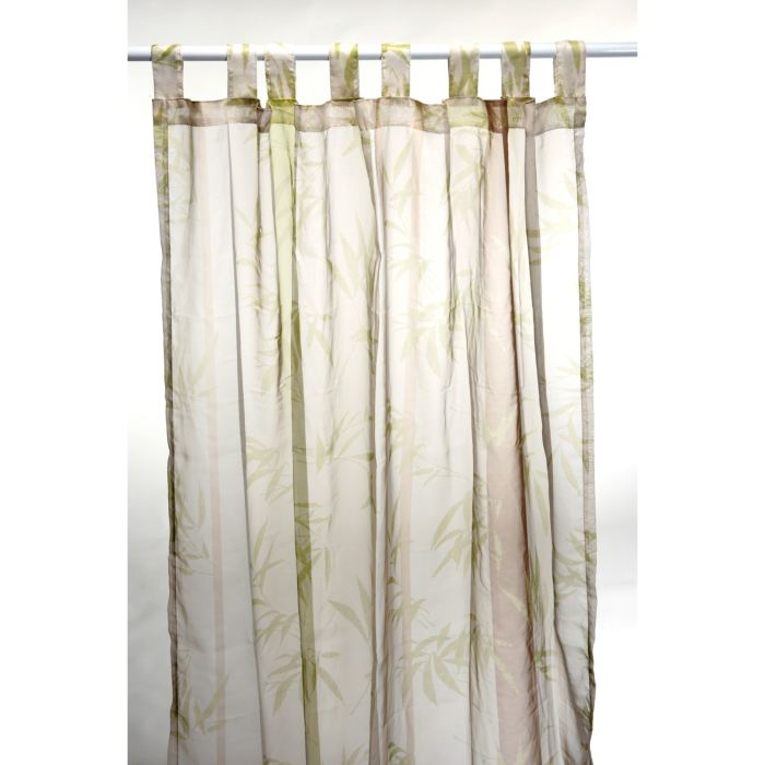 Voilage «BAMBOU» 140 x 240 Achat / Vente rideau voilage