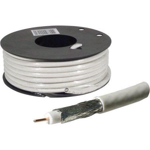 Câble coaxial pour antenne TV / Satellite 25m câble tv vidéo