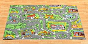 Tapis de jeux Trafic Tapis Circuit 0,95m x 2,00m