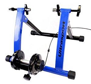 Ultrasport Home Trainer Support pour vélo stationnaire Bleu