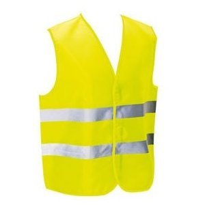 Gilet jaune fluo norme EN471: Sports et Loisirs