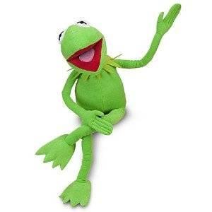 Le Muppet Show: Kermit la grenouille 12 «jouet en peluche AKA