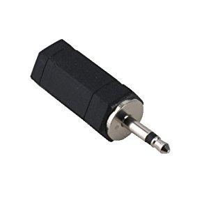 Hama 43354H Connectique Adaptateur femelle jack 3.5mm/jack mâle 2.5mm