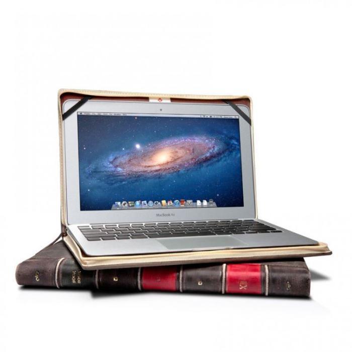 Housse cuir vieilli Apple MacBook Air 13″ «BookBook» Twelve South