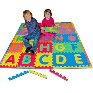 Tatamiz TTZ.ABC Puzzle de Sol Tapis Puzzle Alphabet