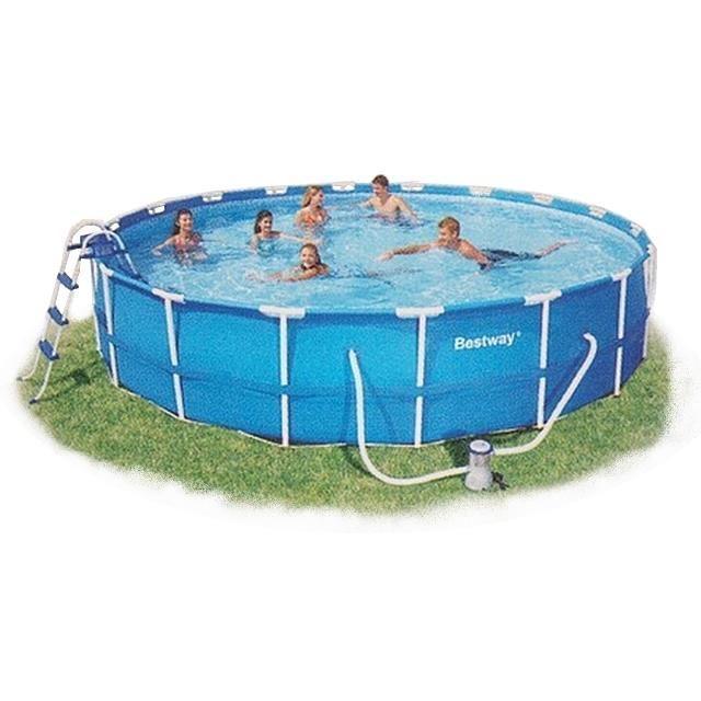 piscine ronde 5.49 Achat / Vente kit piscine Piscine autoportante