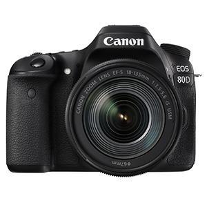 Canon EOS 80D 18 55 / 3.5 5.6 EF S IS STM Appareils Photo Numériques