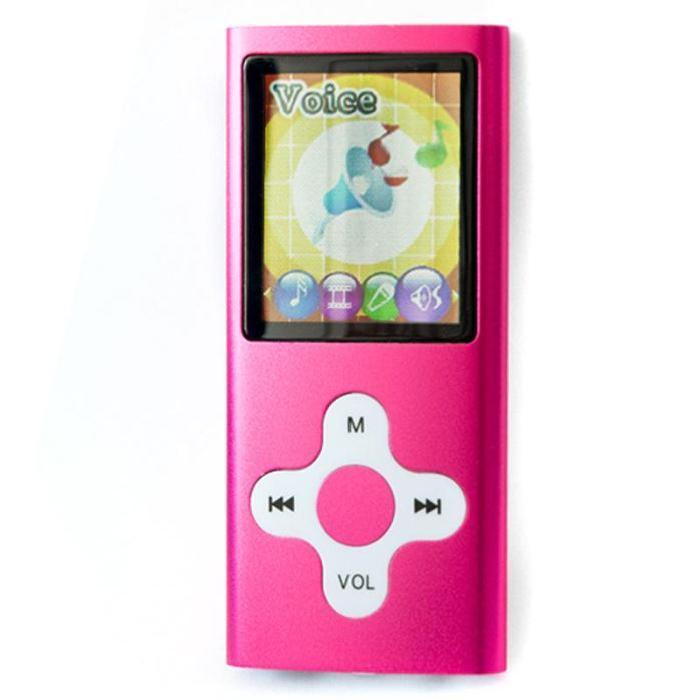 MMP4 17 Lecteur MP3 MP4 appareil photo 4Go rose lecteur mp4, avis et