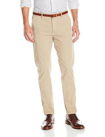 Scotch & Soda Pantalon Chino Homme: Vêtements et