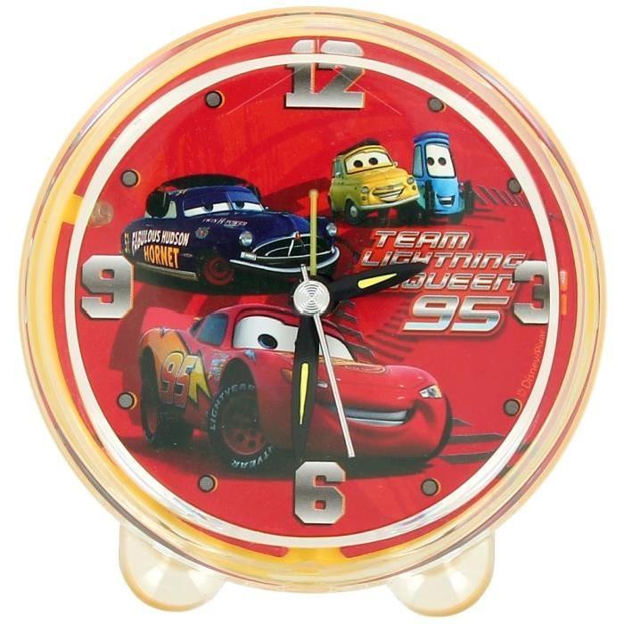 Reveil enfant Disney Cars Flash McQueen LED Lumineux Achat / Vente