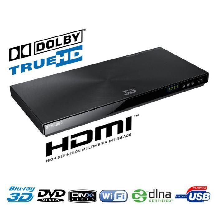 SAMSUNG BDE6100 Lecteur Blu Ray 3D Wifi lecteur blu ray, avis et