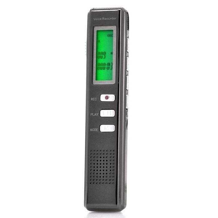 Dictaphone numérique, Design métal, 4Go De la marque High Tech