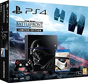 Console PlayStation 4 1To + Star Wars : battlefront édition