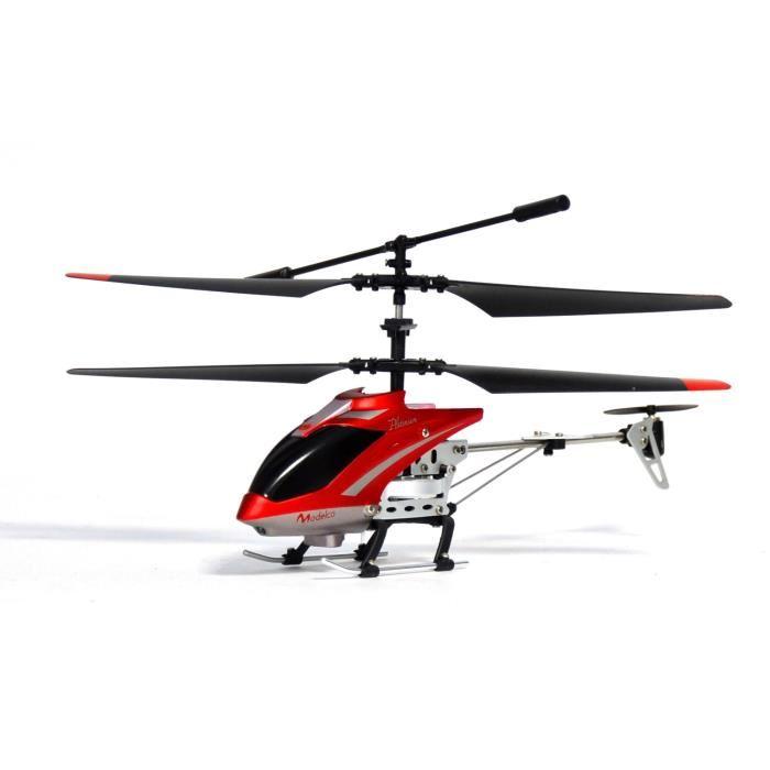 MODELCO Mini Hélicoptère Platinium 3 voies Gyro Achat / Vente