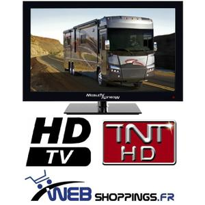 TELEVISION TV LED 39,6CM 16″ TNT HD TNTHD USB CAMION CAMPING CAR 12V