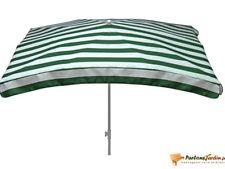 Nouvelle annonce Parasol 200 x 300 cm Vert Rectangulaire Parasol de