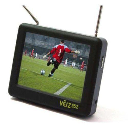 Mini Téléviseur Vesz 352 Baladeur Multimédia Bi Tuner Tnt Ecran
