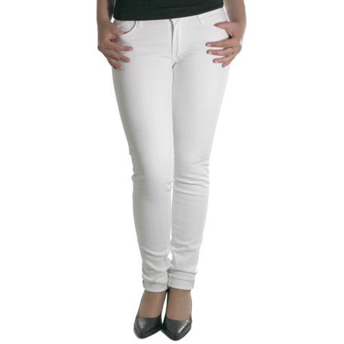 Jeans femme 316 Basic blanc pas cher Achat / Vente Jeans femme