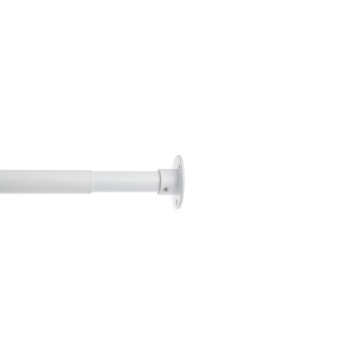 kit de penderie extensible 40 60 cm blanc 1 kit de penderie