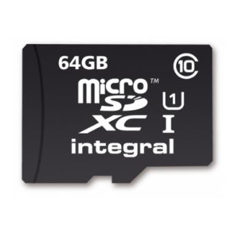 Carte mémoire Integral Micro SDXC 64 Go Class10 Carte Micro SD