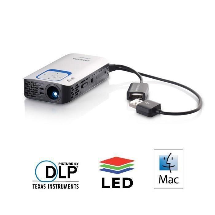 philips ppx2340 videoprojecteur portable led dlp