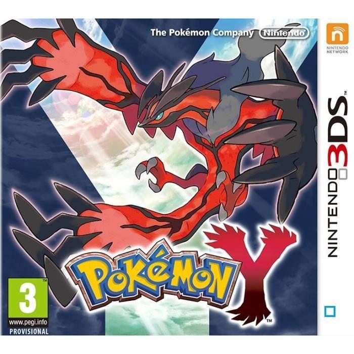 Jeu 3DS Achat / Vente jeux 3ds Pokémon Y 2DS 3DS