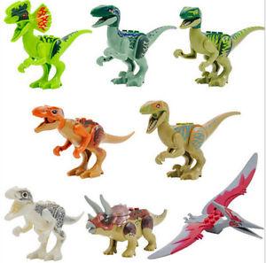 Jurassic World Park Minifigures Lot of 8 Dinosaurs Indominus Rex Fit