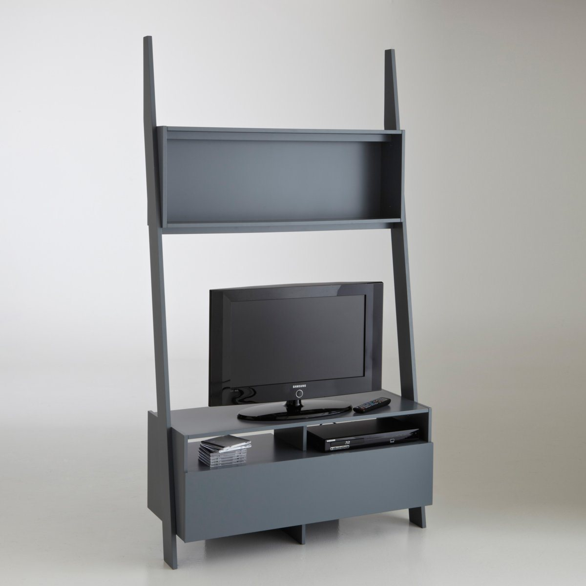 etagere pour tv topiwall. Black Bedroom Furniture Sets. Home Design Ideas
