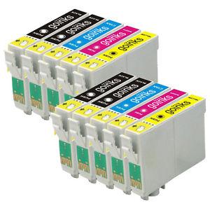 10 Cartouches d 039 encre XL pour Epson XP 202 XP 215 XP 305 XP 402 XP