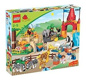Duplo Jeu de construction premier âge Le Zoo Géant