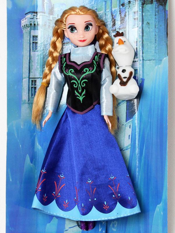 12″ 30cm La Reine Des Neiges Elsa ET Olaf/ Anna ET Olaf