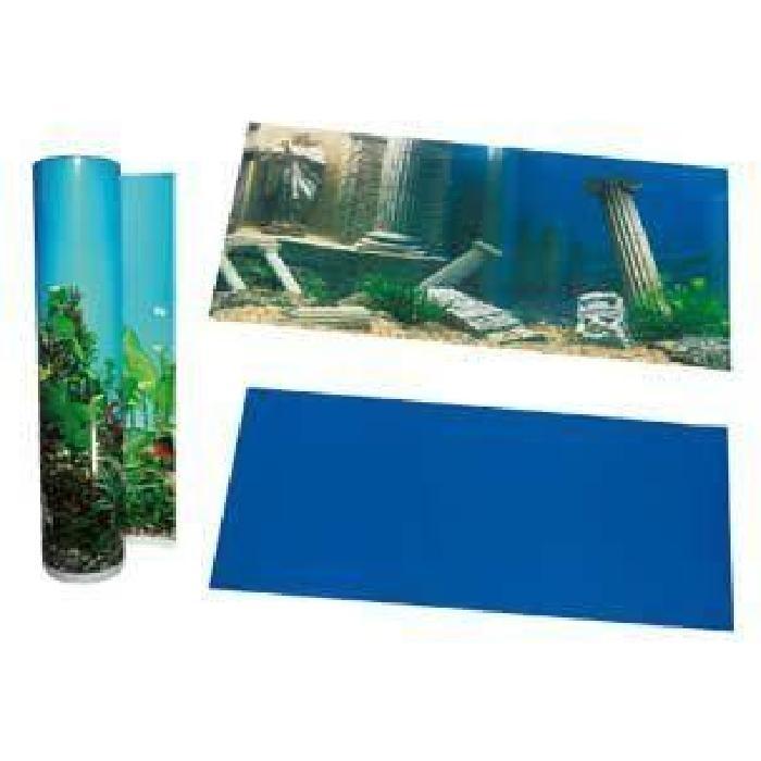 Karlie Poster de fond d'aquarium Motif Piliers Bleu 49 cm Achat