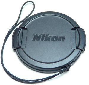 Nikon Genuine Original 52mm Coolpix L810 Lens CAP Cover Keeper Lanyard